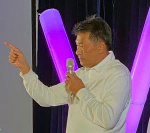 Sri Trang Rubber Glove factory leader Dr. Viyavood