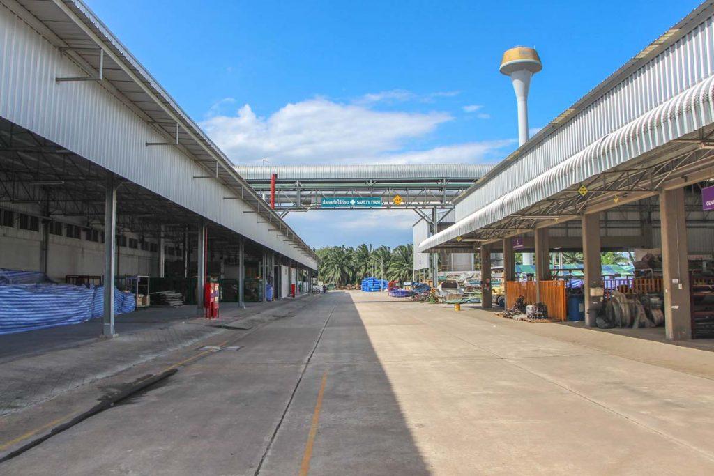 Sri Trang Rubber Glove factory exterior photo