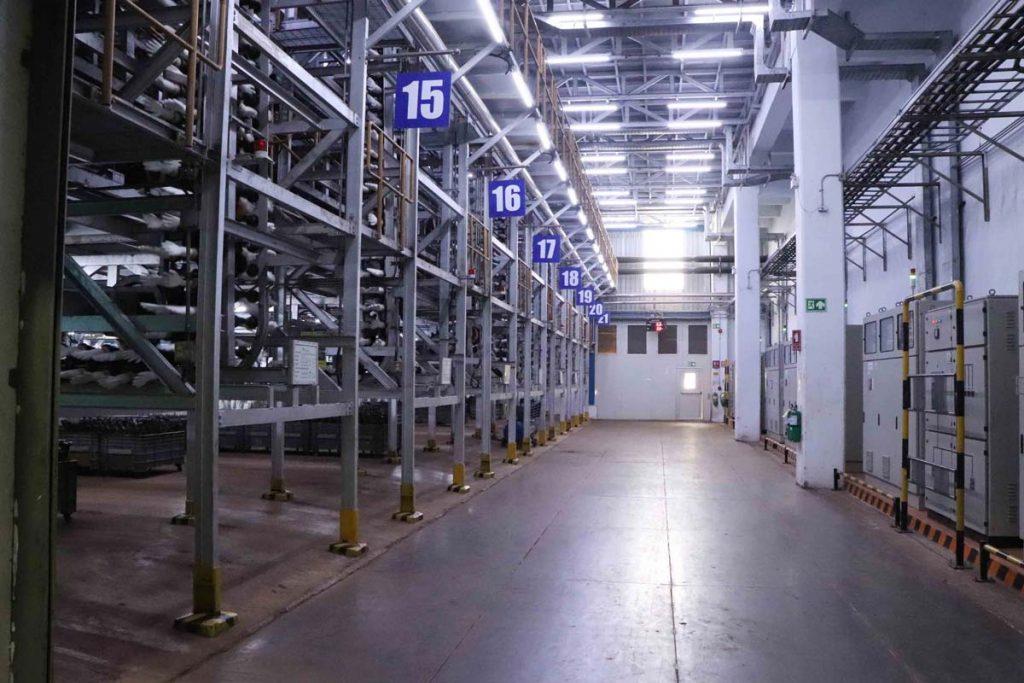 Sri Trang Rubber Glove factory interior photo