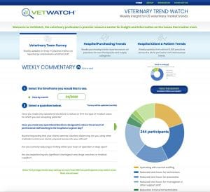 Graphic for VetWatch survey interface