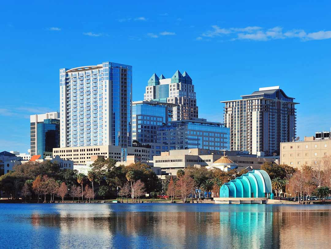 Photo of downtown Orlando home of VMX 2021.