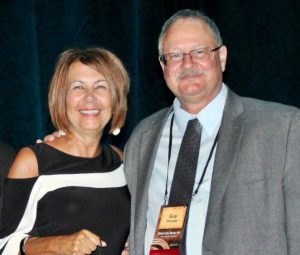 Photo of Cheryl Peterson and Guy Flickinger.