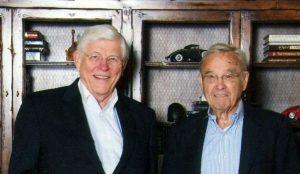 Dr. Bob Hummel and Jim Loughlin