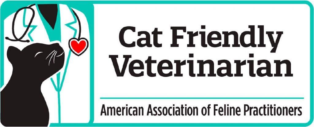 Banner for cat friendly veterinarian.